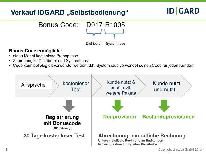 Bonus-Code:    D017-R1005