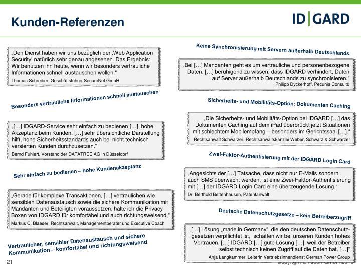 Kunden-Referenzen
