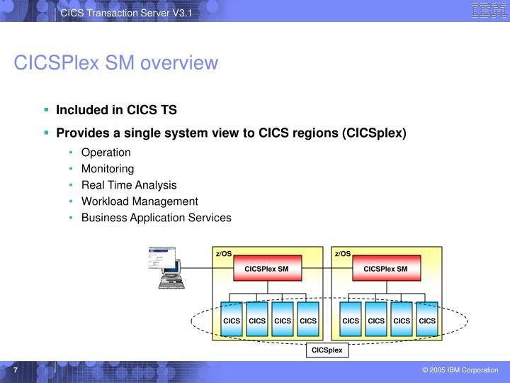 CICSPlex SM overview