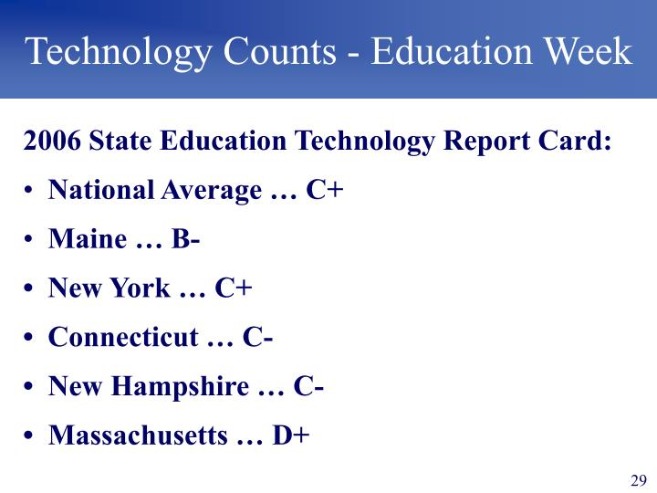 Technology Counts - Education Week