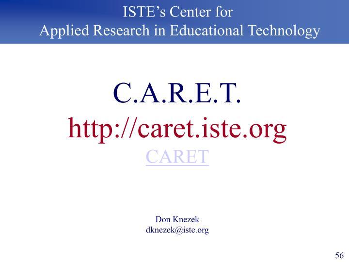 ISTE's Center for