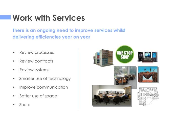 Work with Services