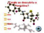 cando se descubriu a penicilina