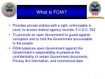 what is foia