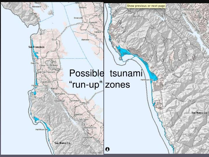 Possible  tsunami