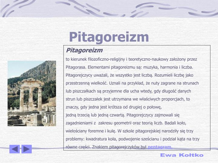 Pitagoreizm