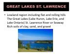 great lakes st lawrence