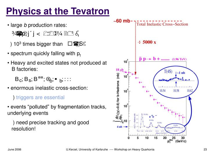 Physics at the Tevatron