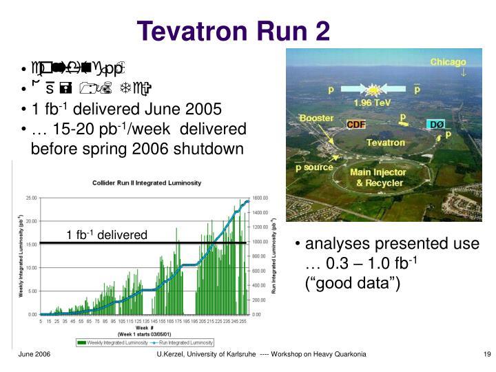 Tevatron Run 2