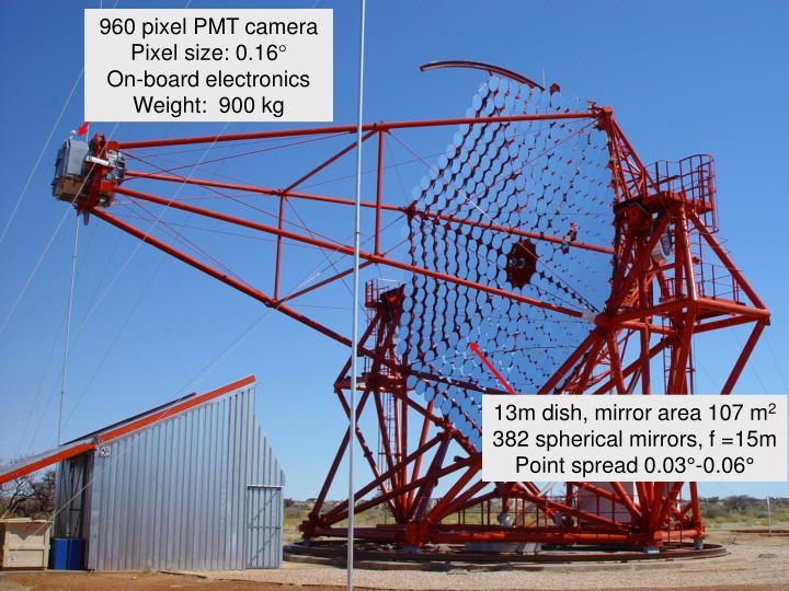 960 pixel PMT camera