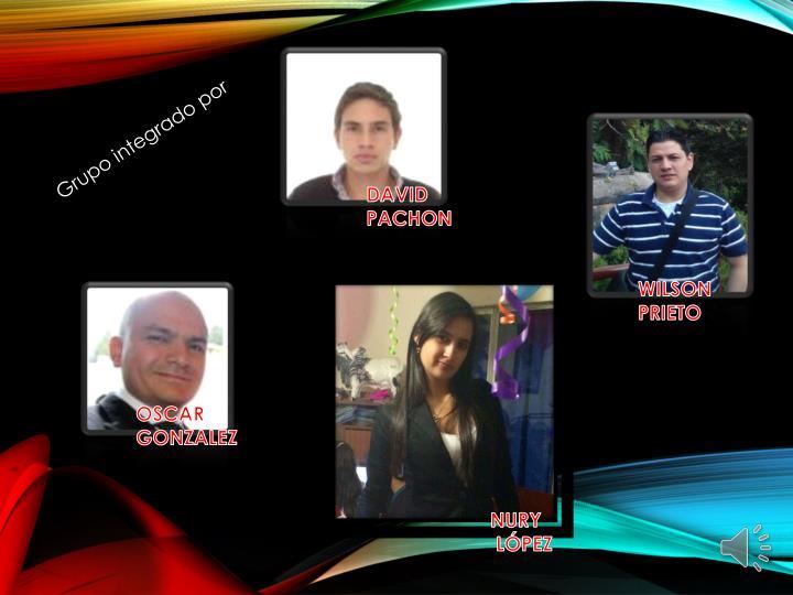 Grupo integrado por