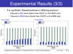 experimental results 3 3