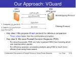 our approach vguard
