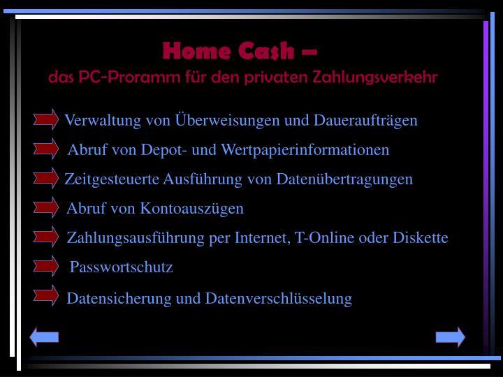 Home Cash –