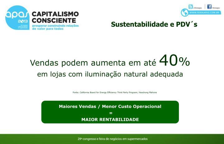 Sustentabilidade e