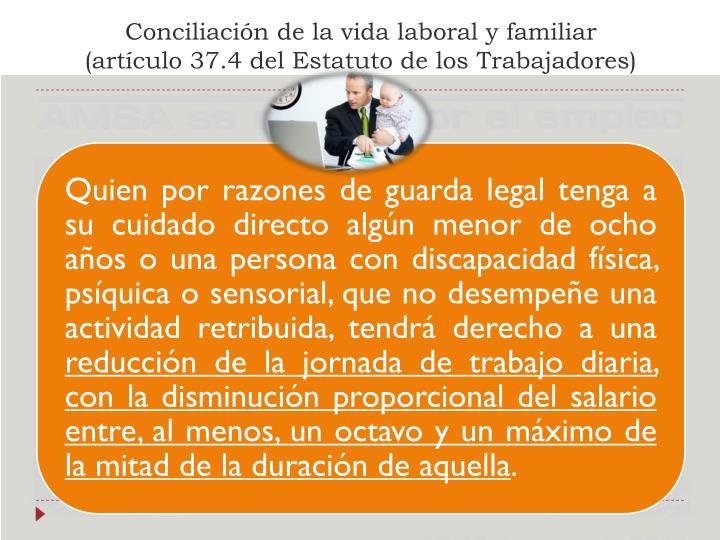 Conciliación de la vida laboral y familiar