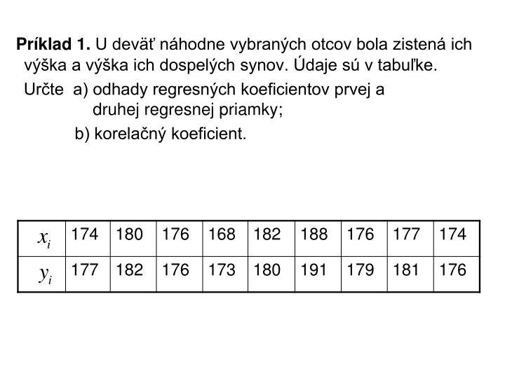 Príklad 1.