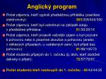anglick program