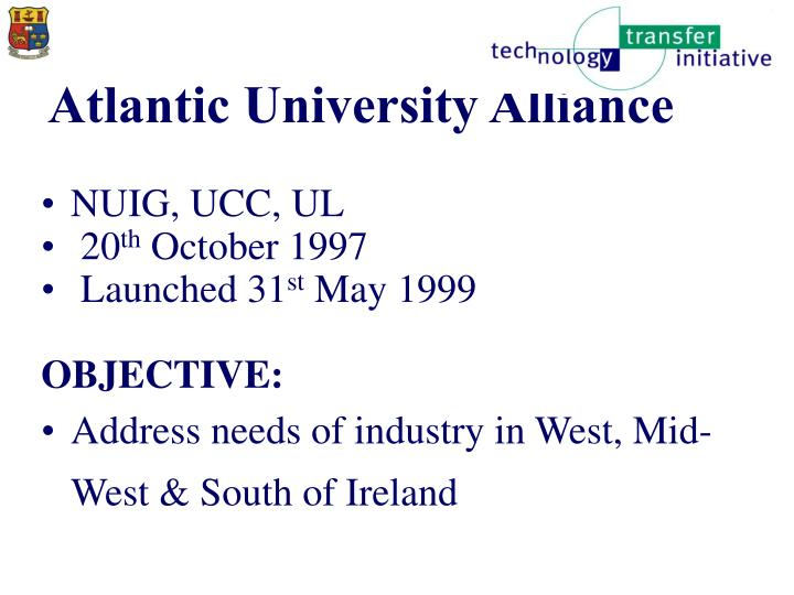 Atlantic university alliance