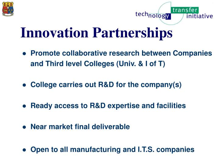 Innovation Partnerships