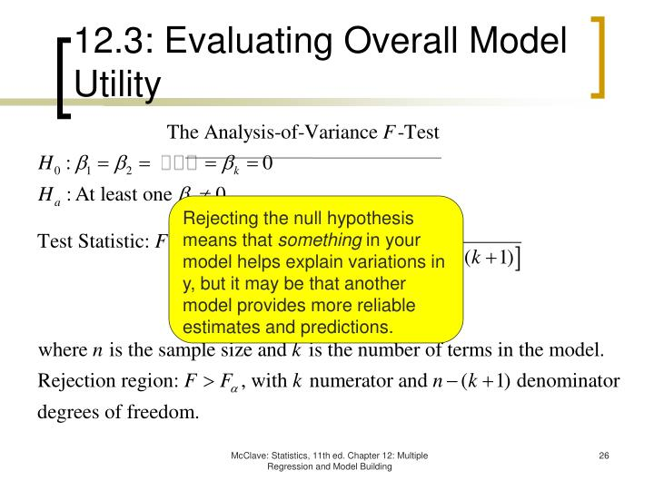 12.3: Evaluating Overall Model Utility
