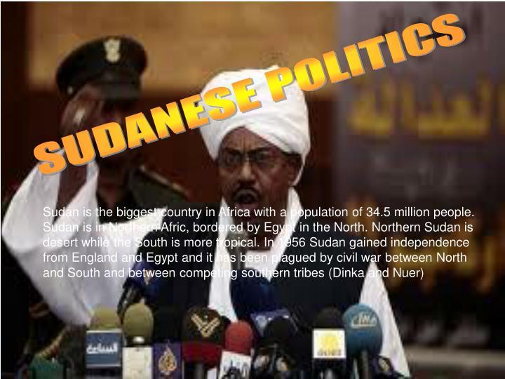 SUDANESE POLITICS