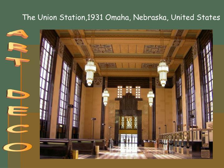 The Union Station,1931 Omaha, Nebraska, United States