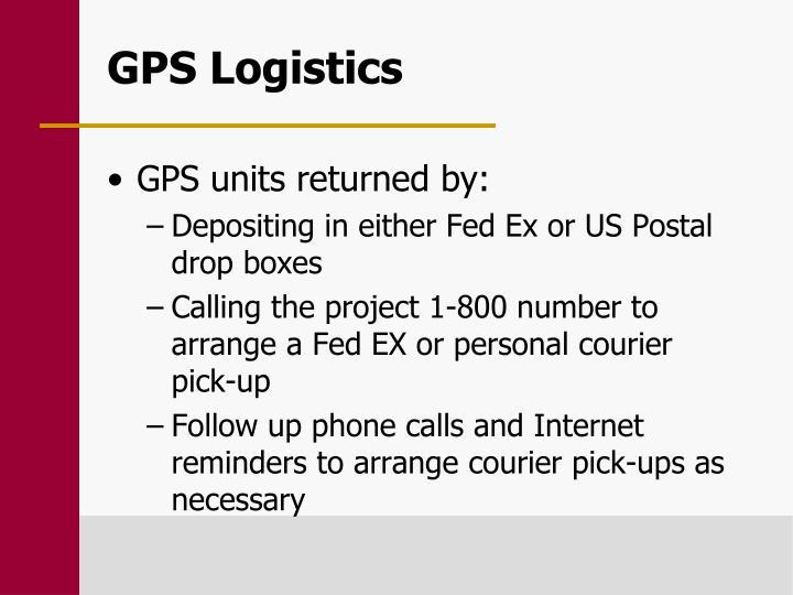 GPS Logistics