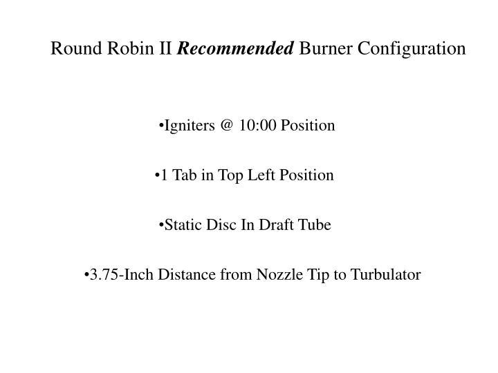 Round Robin II