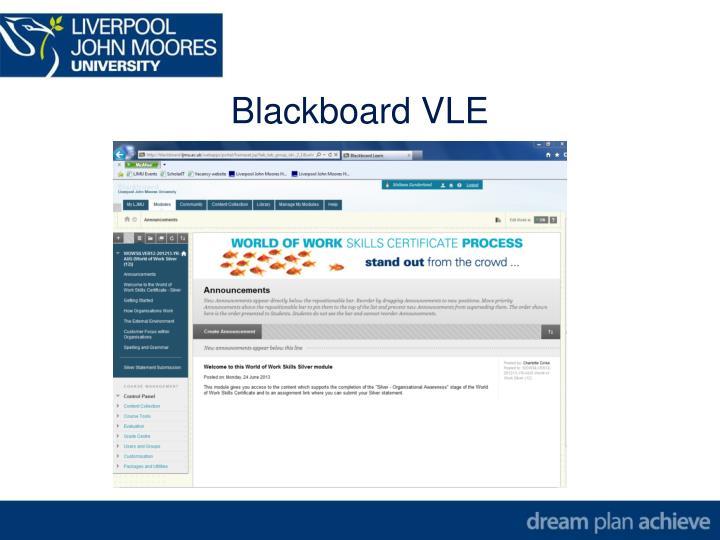 Blackboard VLE