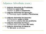 adjuntos adverbiais cont1