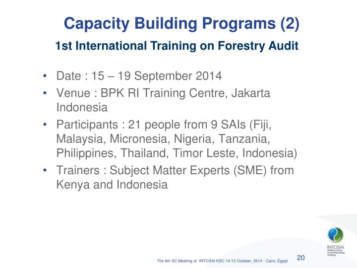 Capacity Building Programs (2)