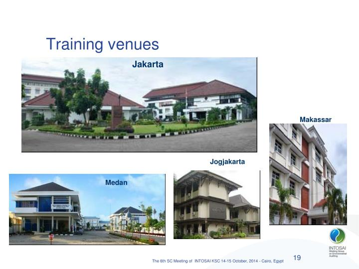 Training venues