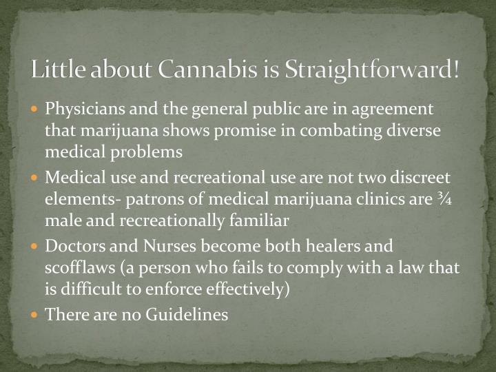 Little about Cannabis is Straightforward!