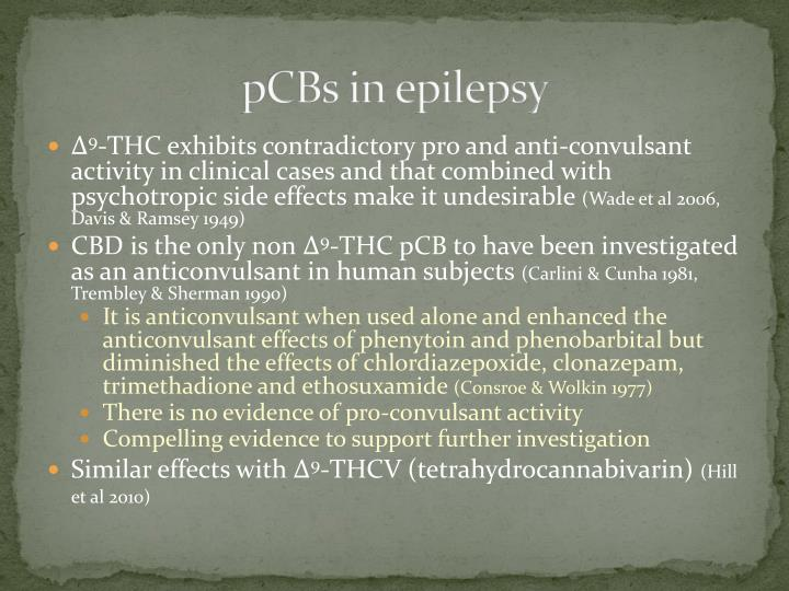 pCBs in epilepsy