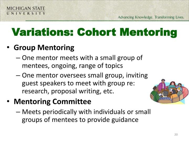 Variations: Cohort Mentoring