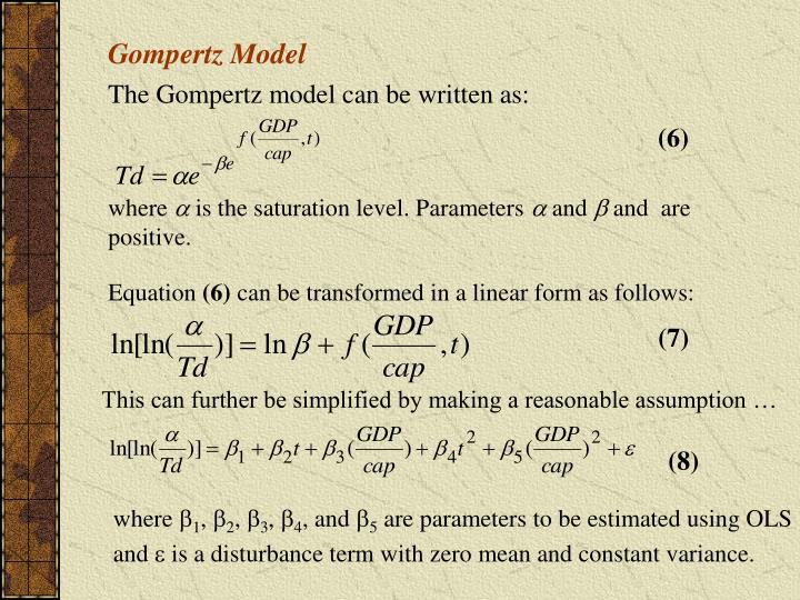 Gompertz Model
