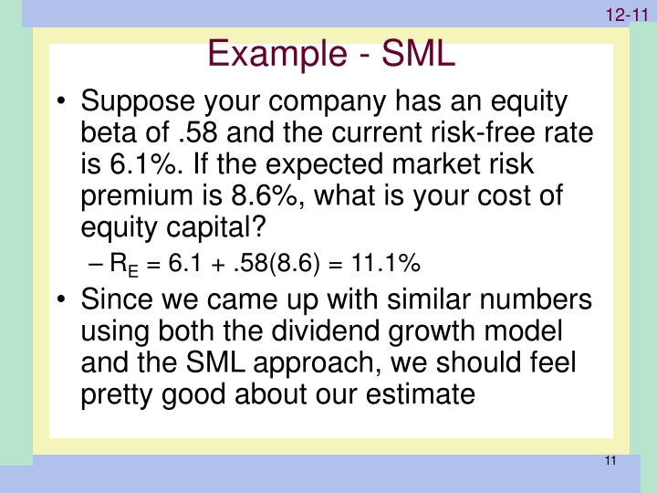 Example - SML