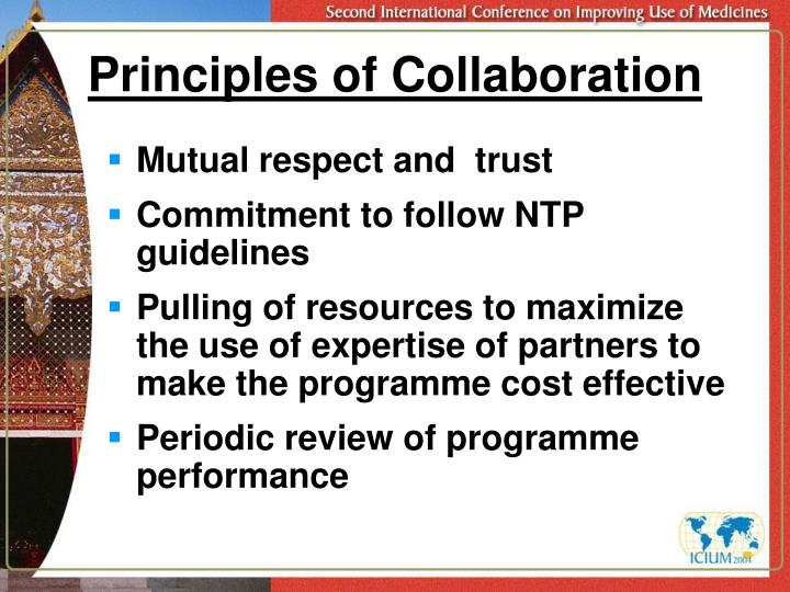 Principles of Collaboration