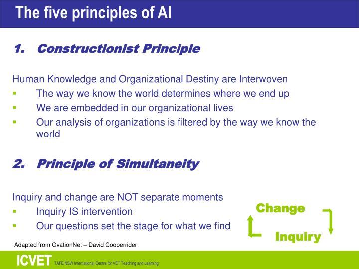 Constructionist Principle
