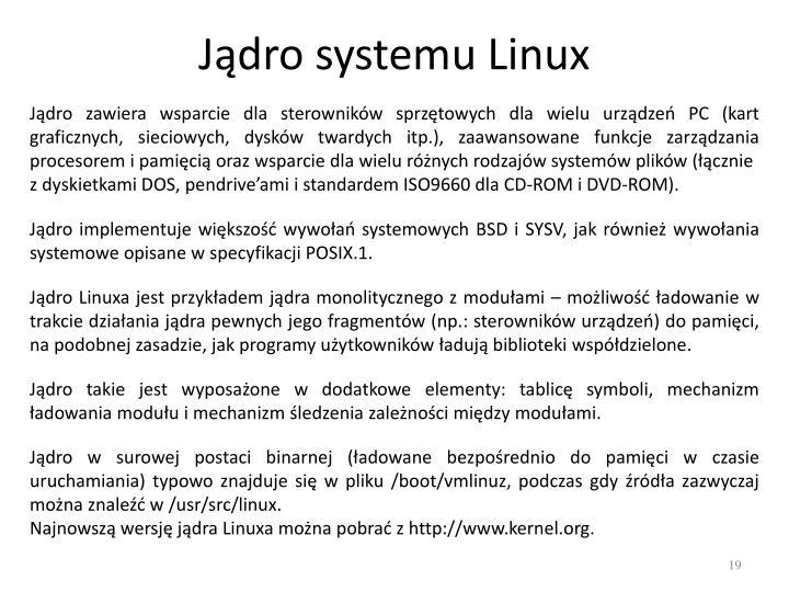 Jądro systemu Linux