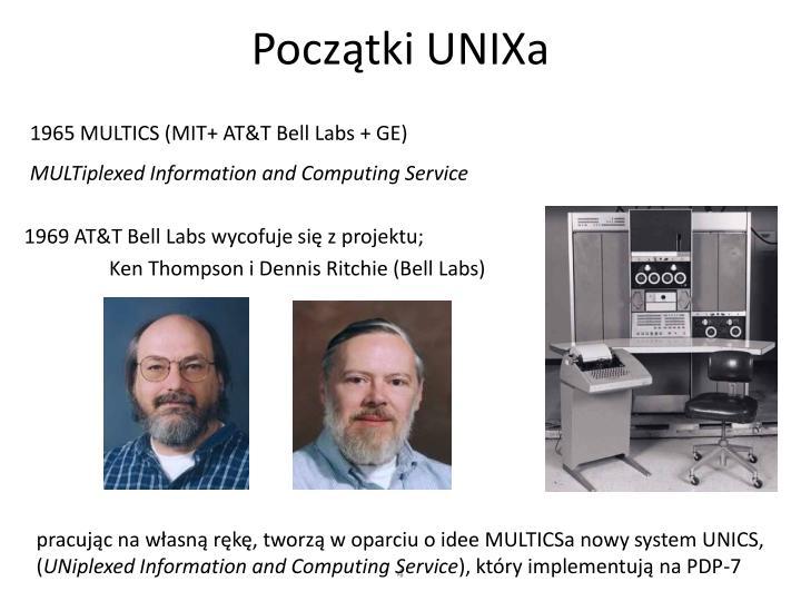 Początki UNIXa