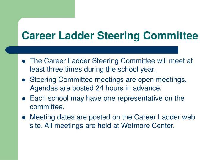 Career Ladder Steering Committee