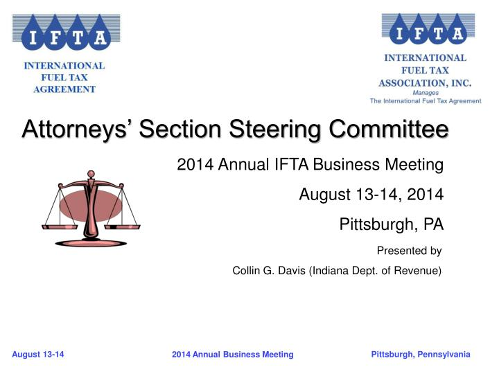 Attorneys' Section Steering Committee
