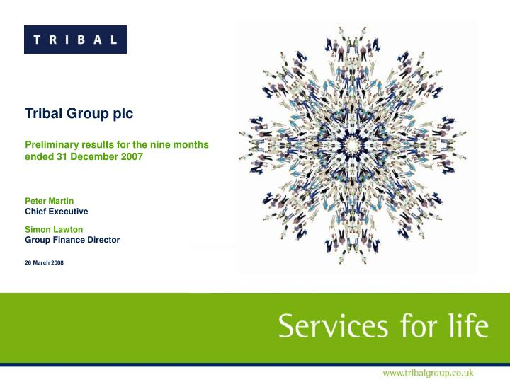 Tribal Group plc