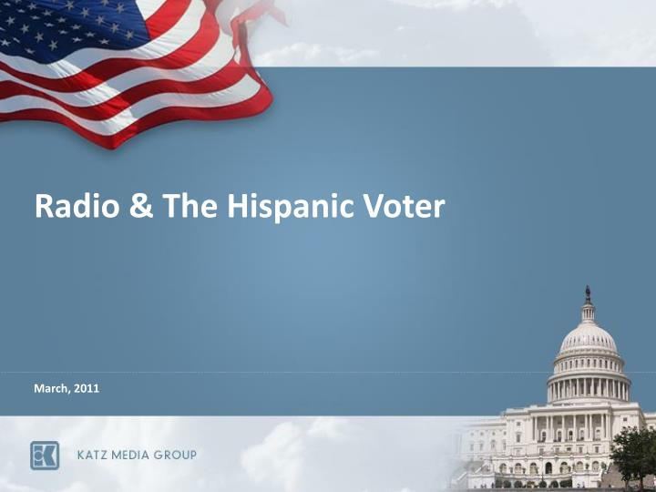 Radio the hispanic voter