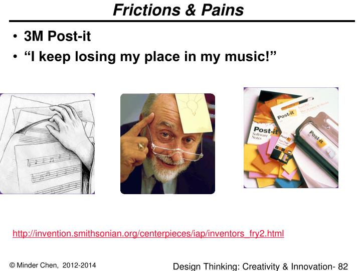 Frictions & Pains