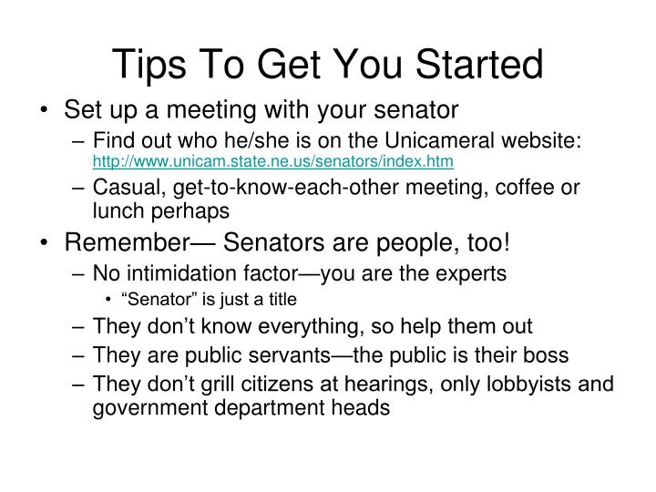 Tips To Get You Started