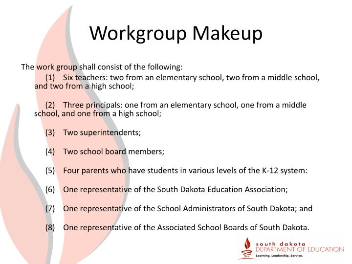 Workgroup Makeup