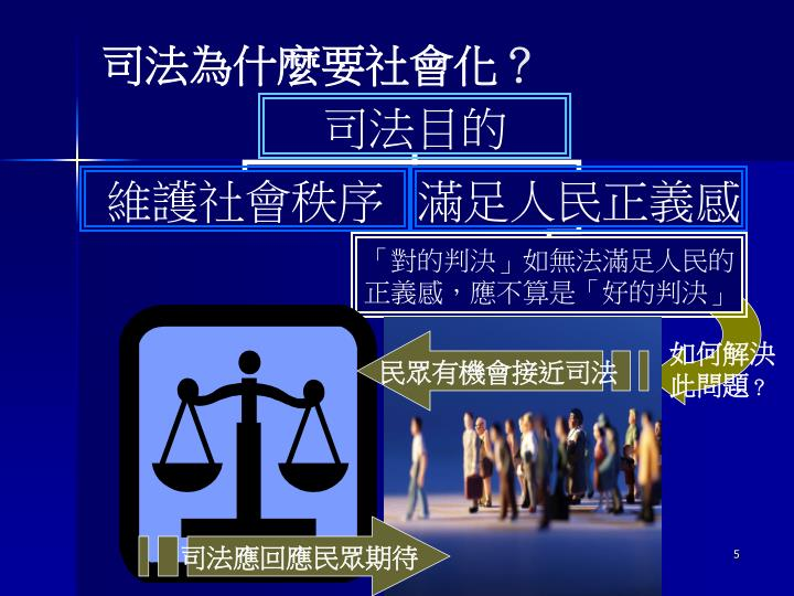 司法為什麼要社會化